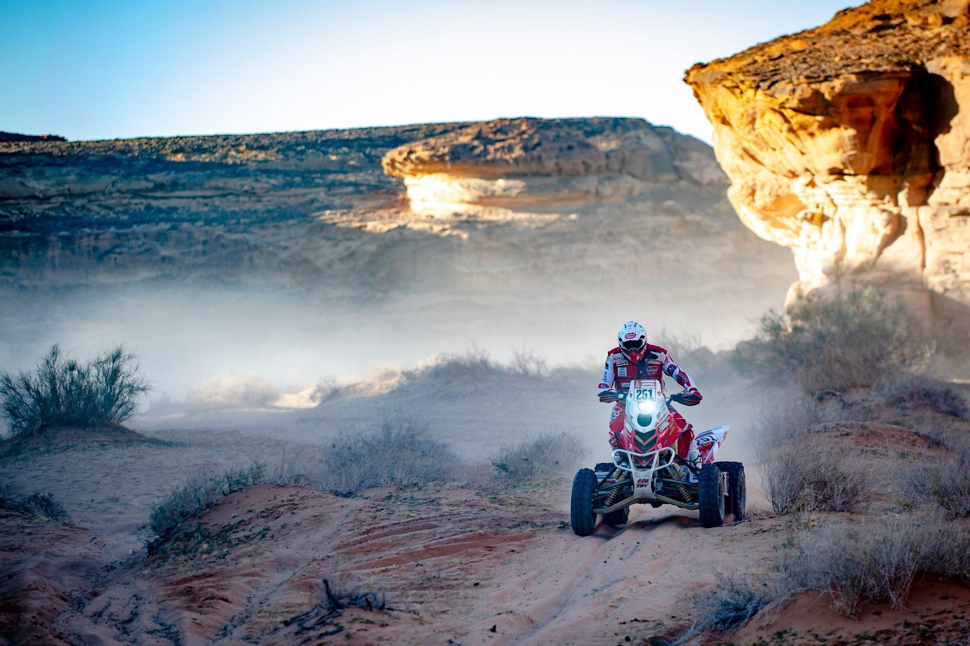 Etap V rajdu Dakar 2020. Rafał Sonik