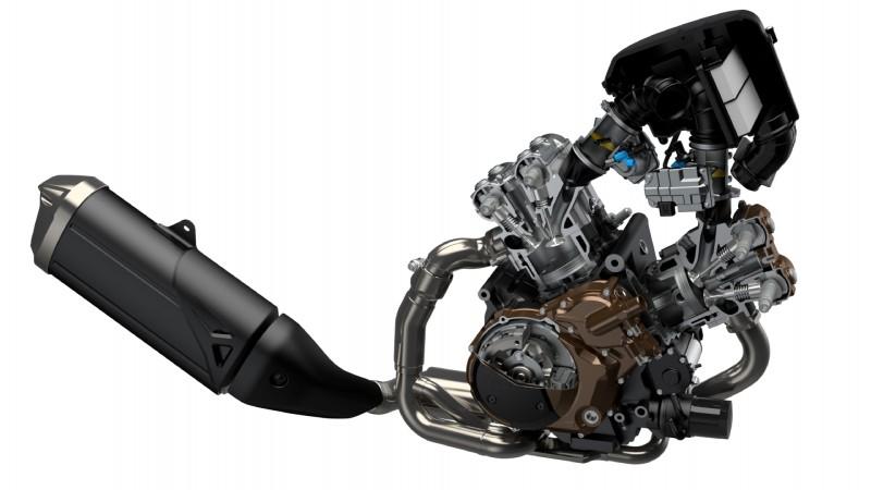 Suzuki V-Strom 1050 Silnik