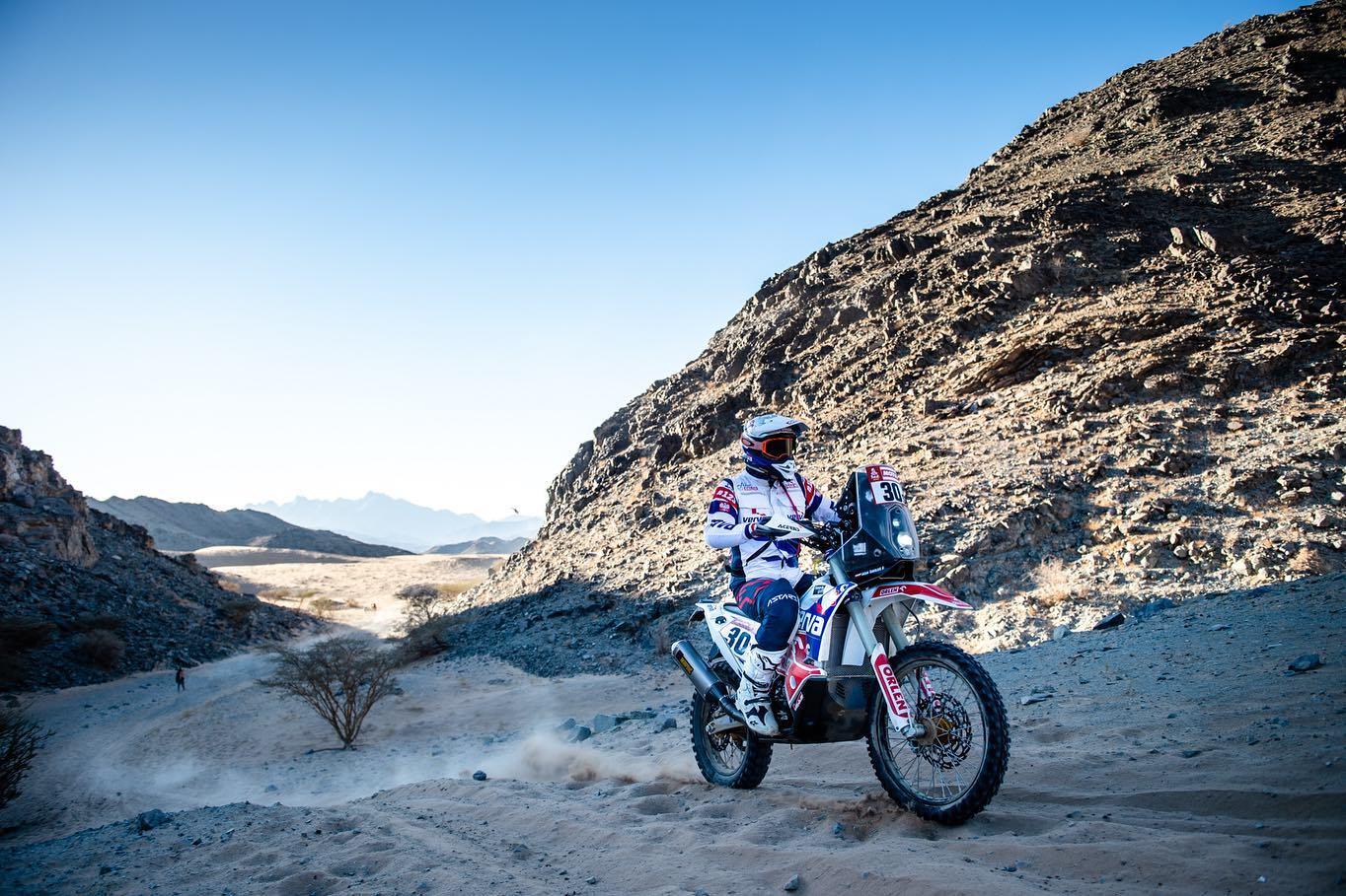 Dakar 2020, etap VI. Maciej Giemza