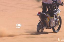 Dakar 2020 bez tylnej opony