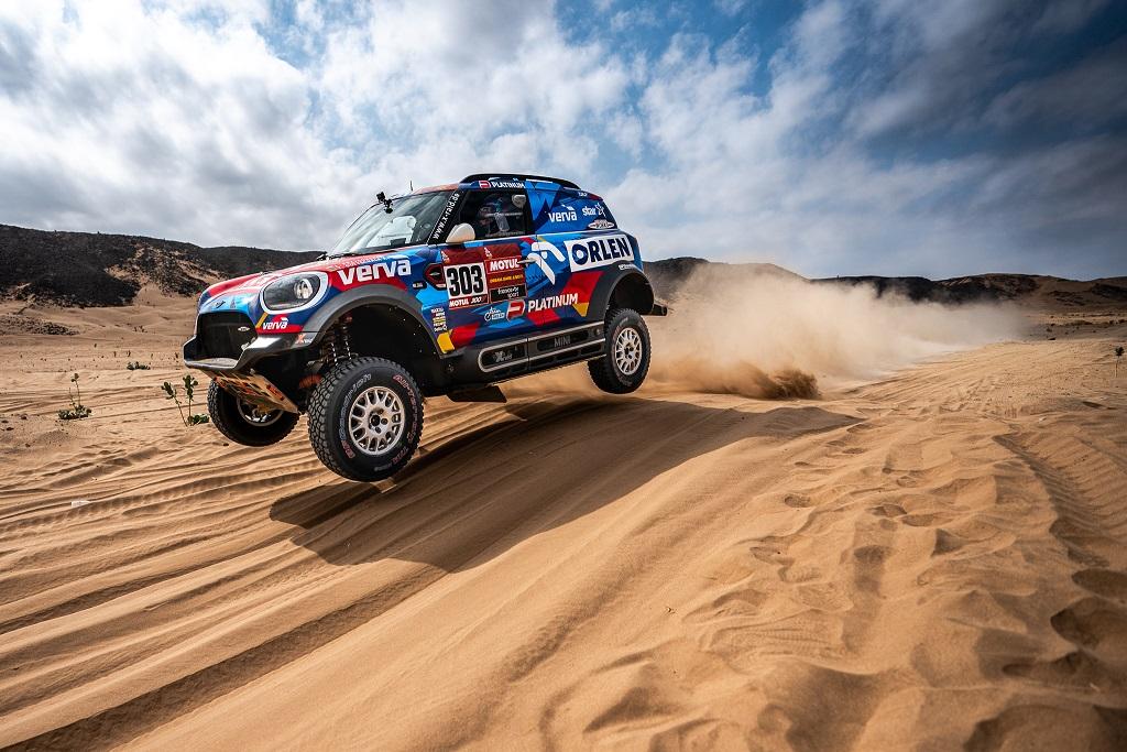 Kuba Przygoński, Dakar 2020, etap VI