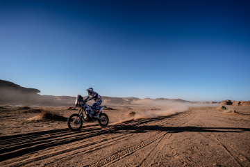 Dakar 2020, etap VI rajdu Dakar, Maciej Giemza
