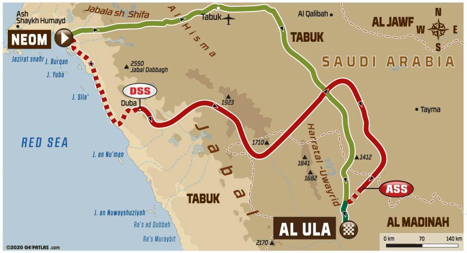 Dakar 2020, etap IV