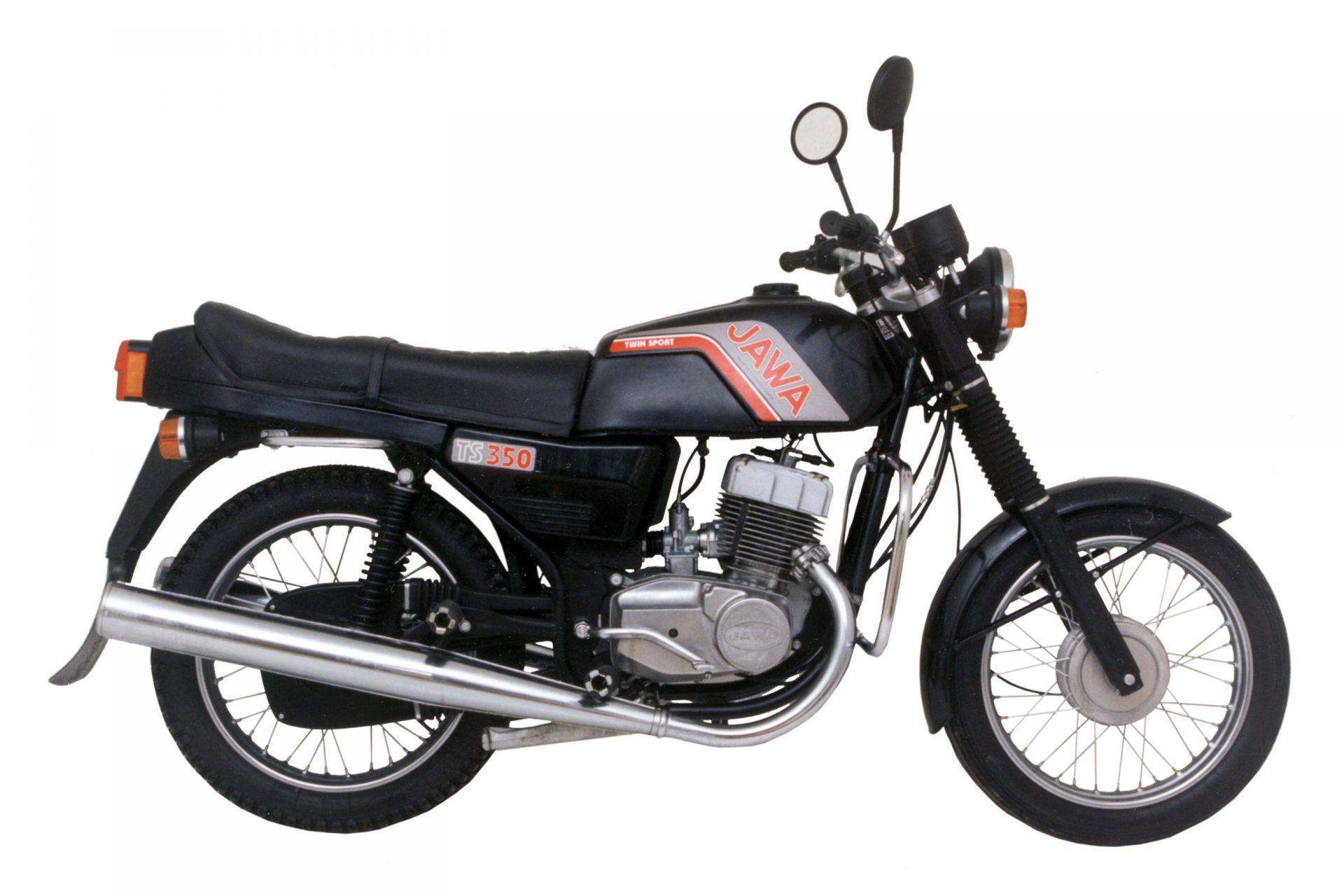 Jawa TS 350 - dwusuwowy motocykl zabytkowy