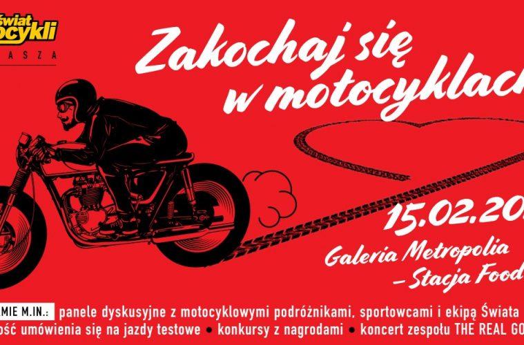 Zakochaj się w motocyklach ze Światem Motocykli