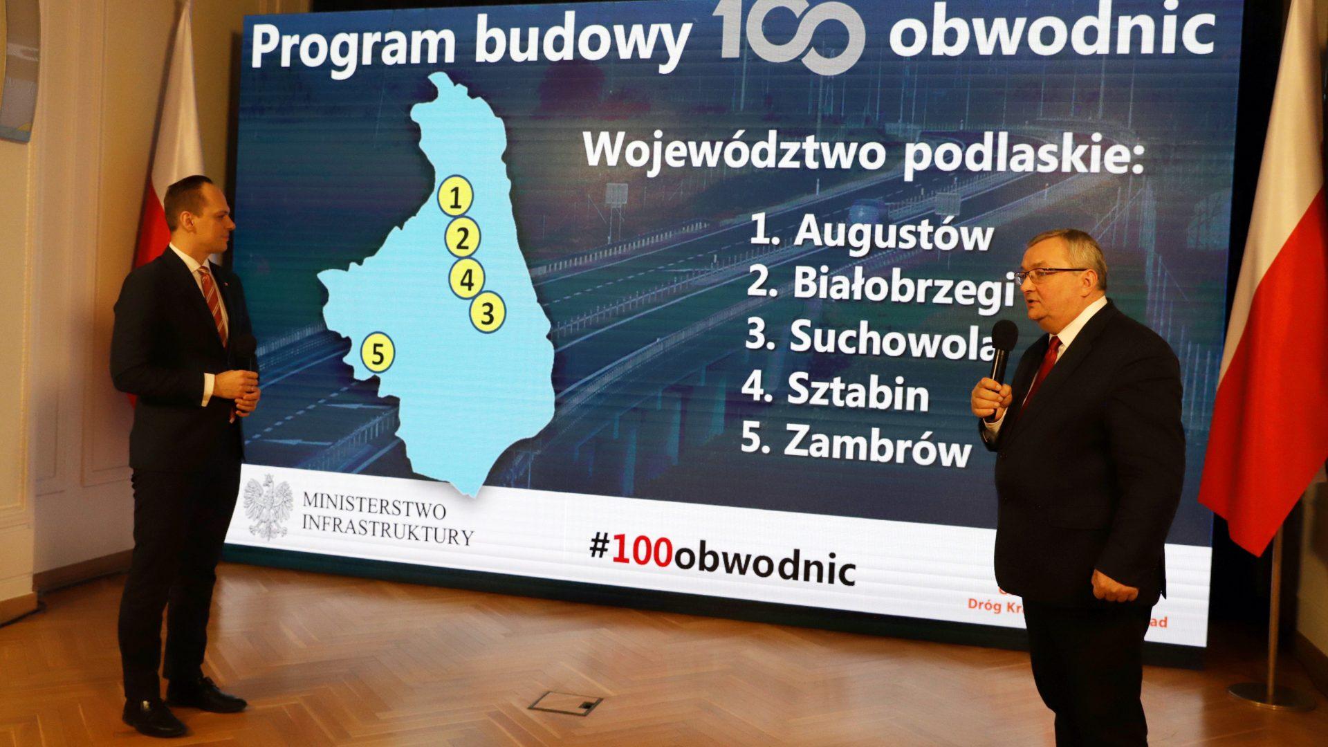100 obwodnic w 10 lat!