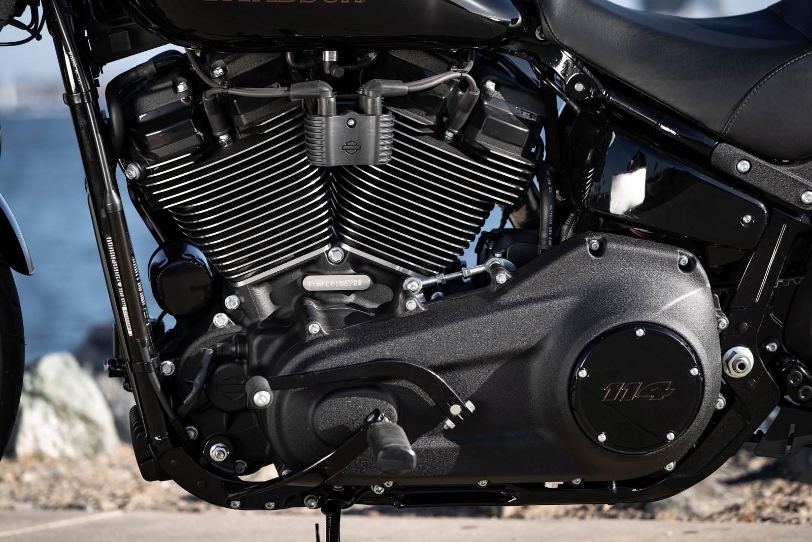 Harley Davidson Low Rider S 2020 - recenzja, opinie, info o motocyklu - silnik