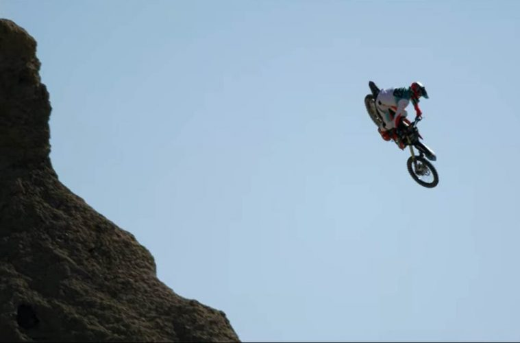 Freestyle motocross - skok