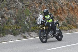 Nowy Triumph Tiger 2021 - Zdjęcia szpiegowskie