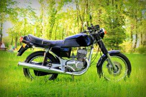 Jawa TS 350 - dwusuwowy motocykl zabytkowy, photo: Tobiasz Kukieła