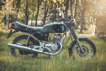 Jawa 350 TS - motocykl dwusuwowy