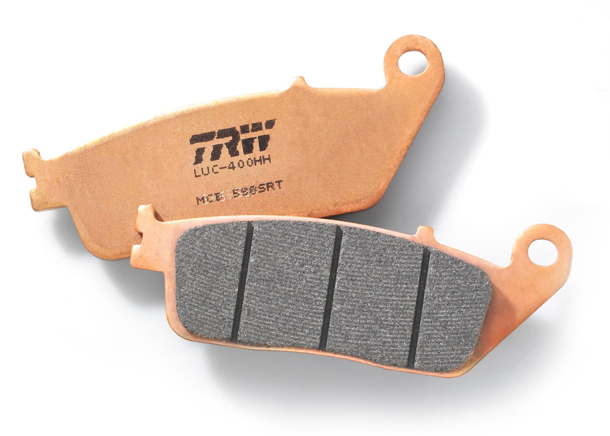 TRW Sinter Road & Track (SRT) Bremsbeläge für maximale Sicherheit, Langlebigkeit und Leistung auf den Punkt, selbst unter extremen Bedingungen.  //  TRW Sinter Road & Track (SRT) brake pads for maximum safety, durability and precise performance, even under extreme conditions.