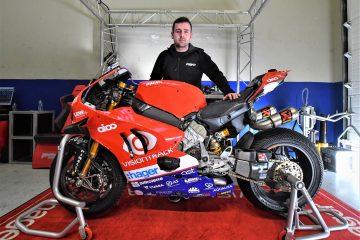 Michale Dnulop na wystpie Man - od teraz w Ducati