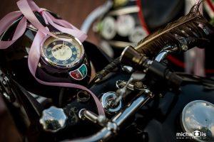 Motocyklem do ślubu - foto Michał Lis