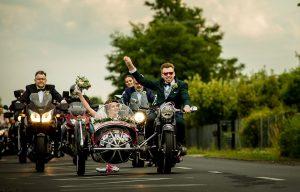 Motocyklem do ślubu