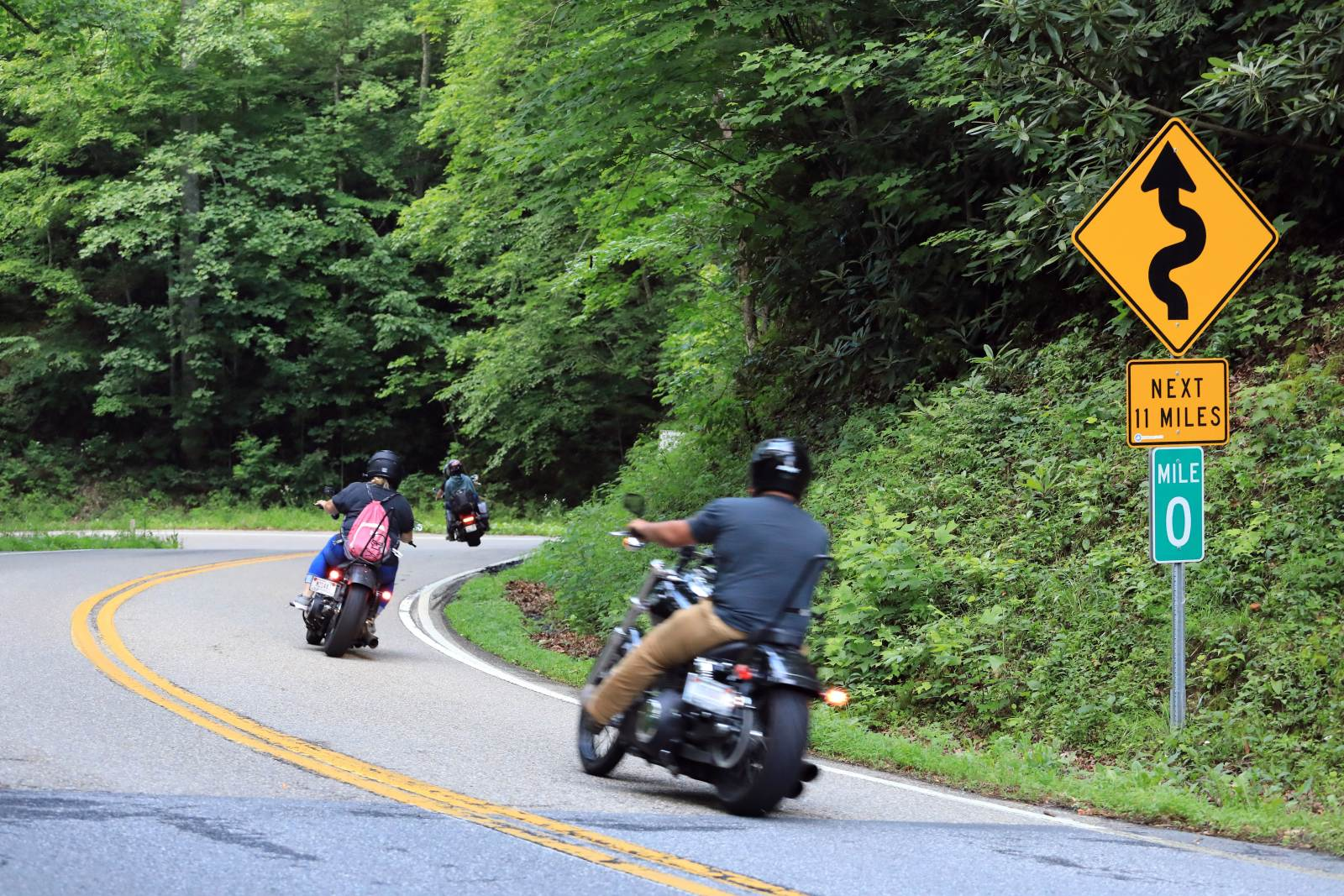 USA: Tail of the Dragon