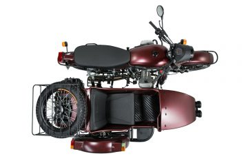 Motocykl Ural z koszem