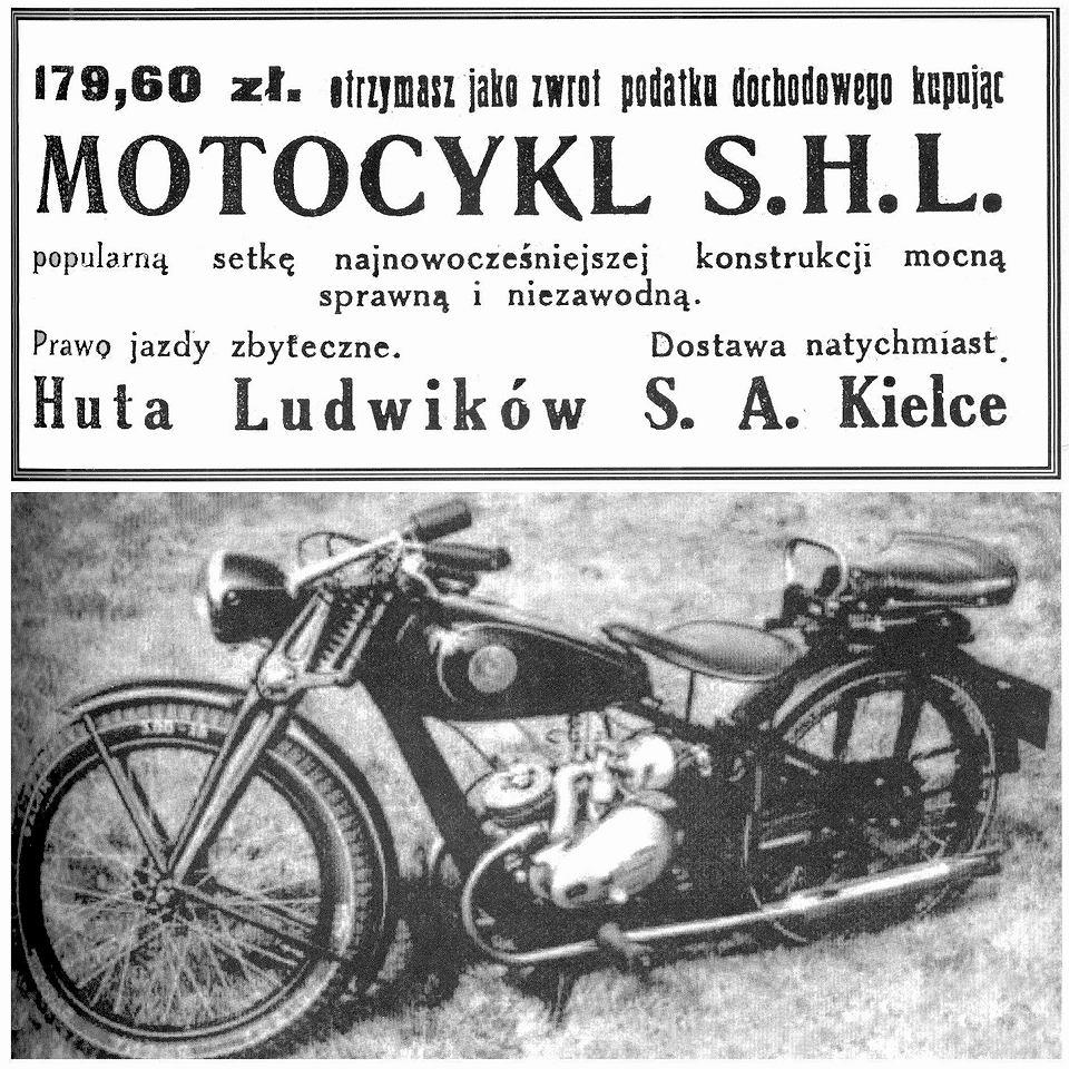 Otmar Kwieciński, motocykle SHL