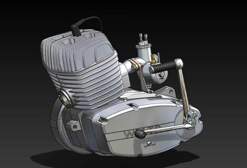 Silnik W2 Gazela