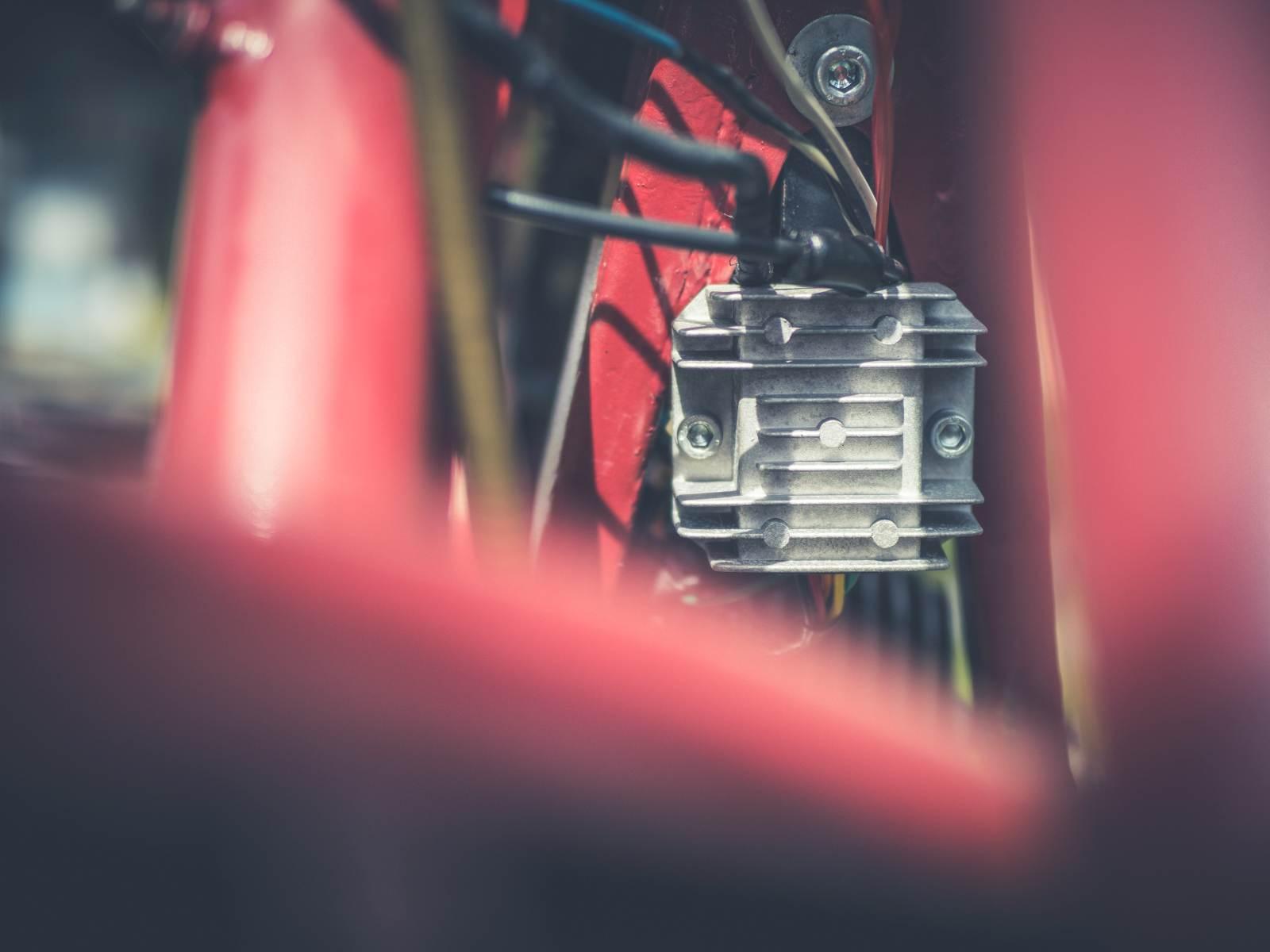 Zapłon CDI w motocyklu zabytkowym