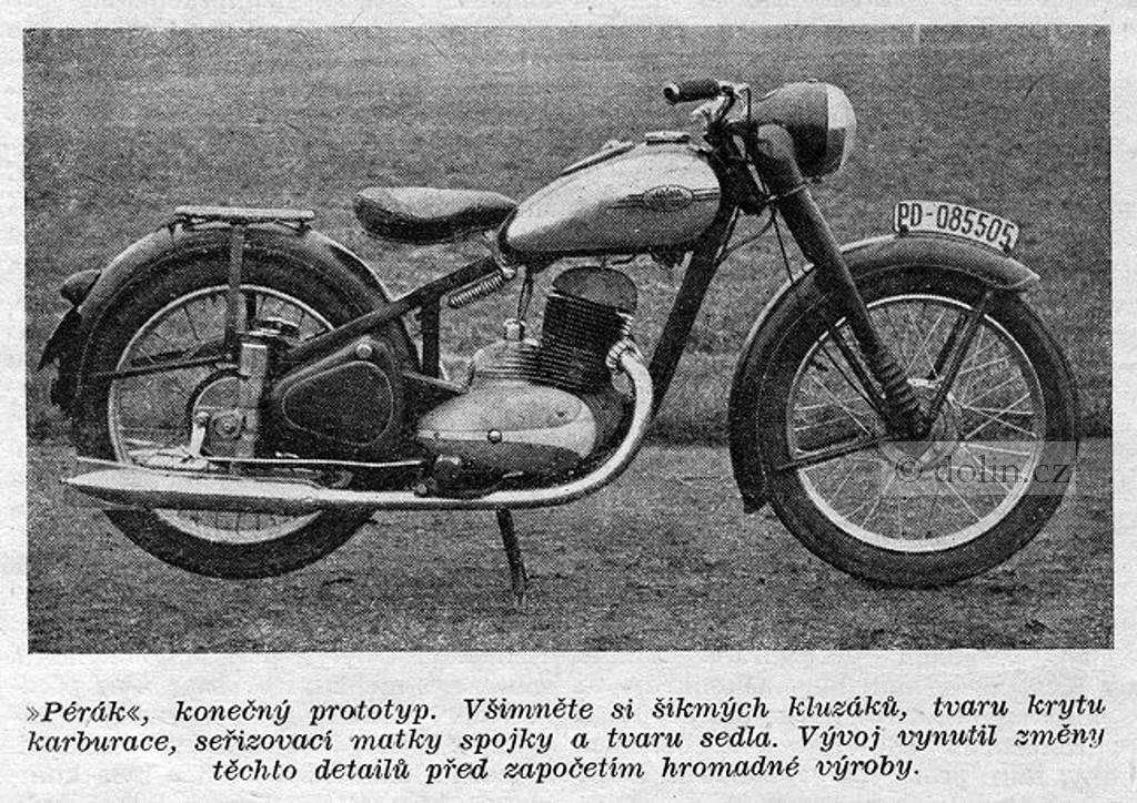 Motocykle Jawa Perak