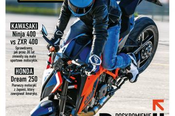 majowe wydanie magazynu Świat Motocykli