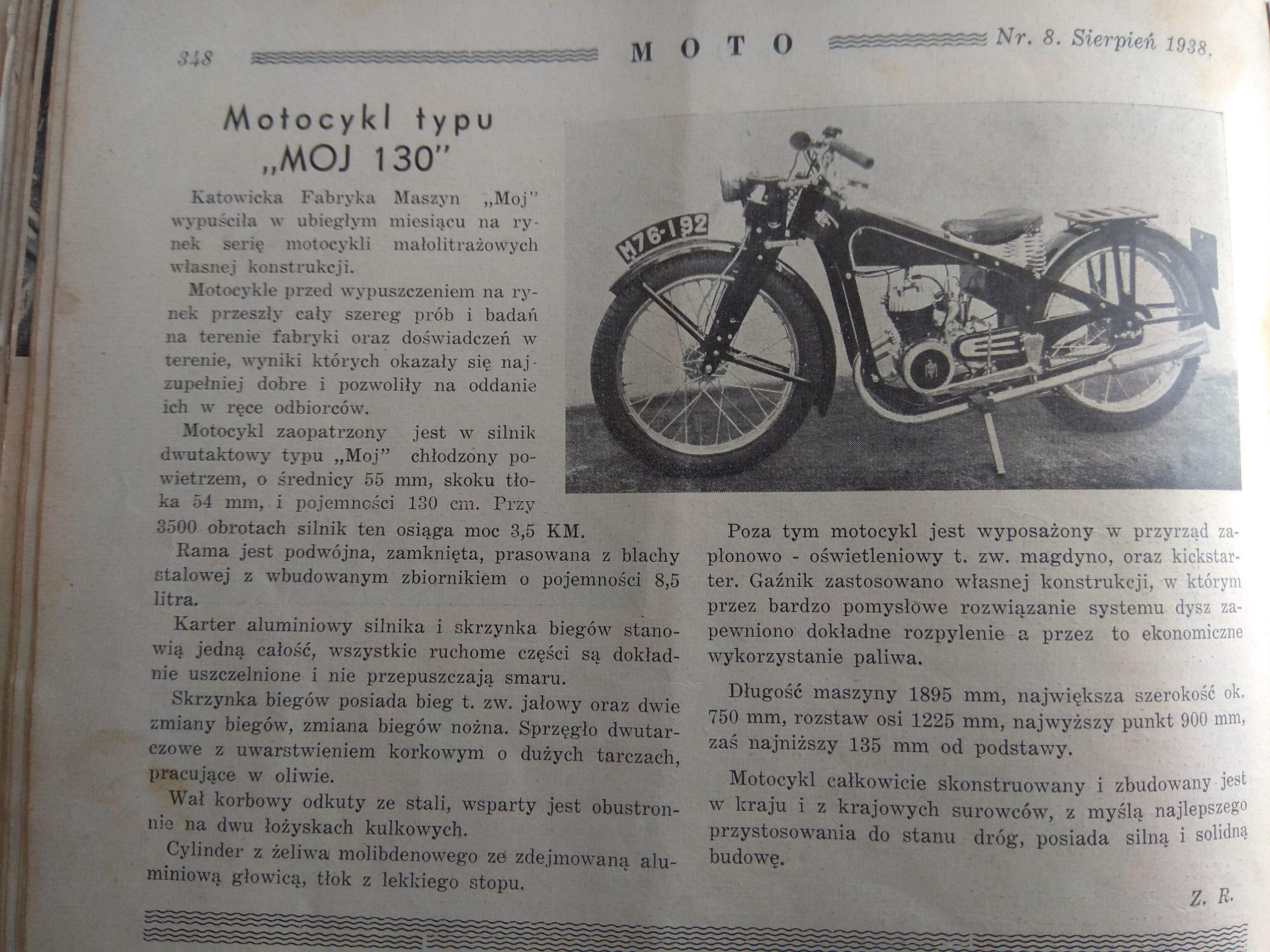MOJ 130