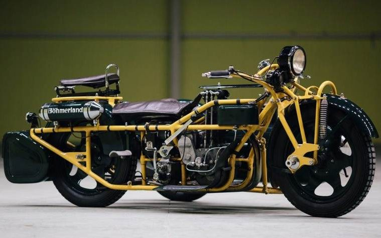 Böhmerland - najdłuższy motocykl świata