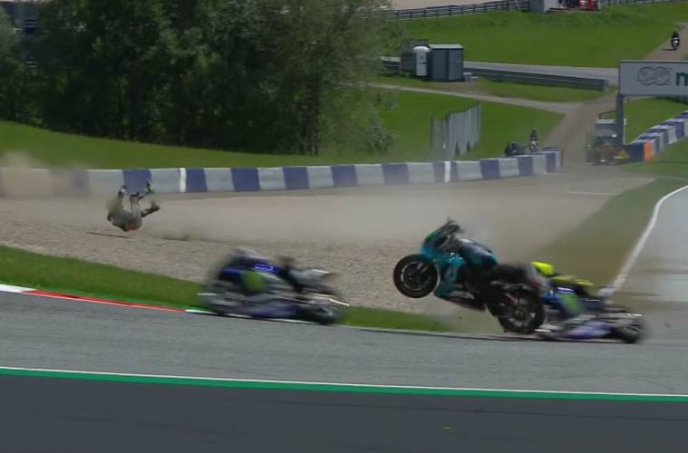 MotoGP Crash/wypadek