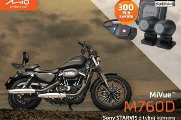 Mio, wideorejestrator dla motocyklistów