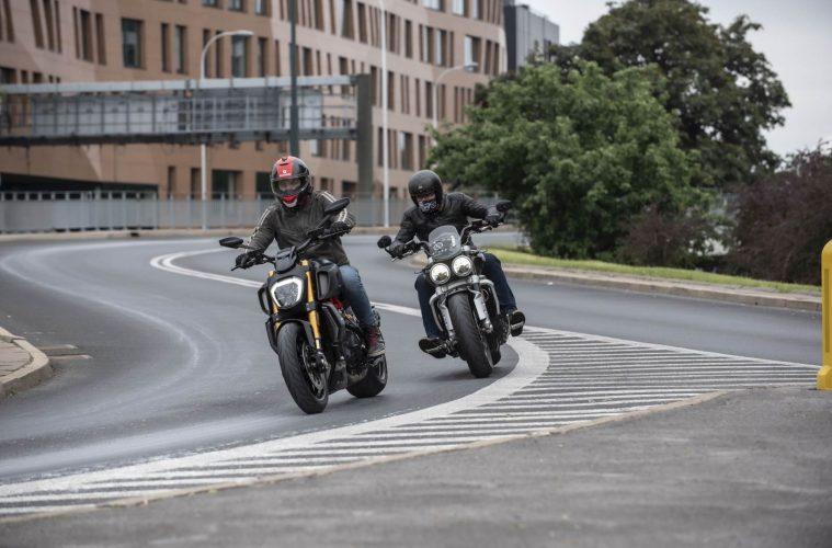 Konfrontacja| Ducati Diavel 1260 S vs Triumph Rocket III GT