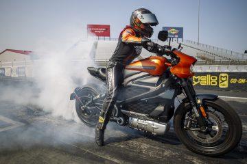 H-DLiveWire - rekord prędkości