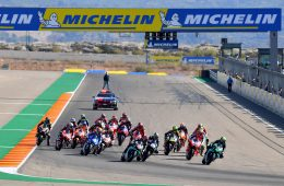FABIO QUARTARARO FRA PETRONAS YAMAHA SRT YAMAHA MotoGP GP Michelin de Aragon 2020 (Circuit Motorland Aragon) 16-18.10.2020 photo: MICHELIN