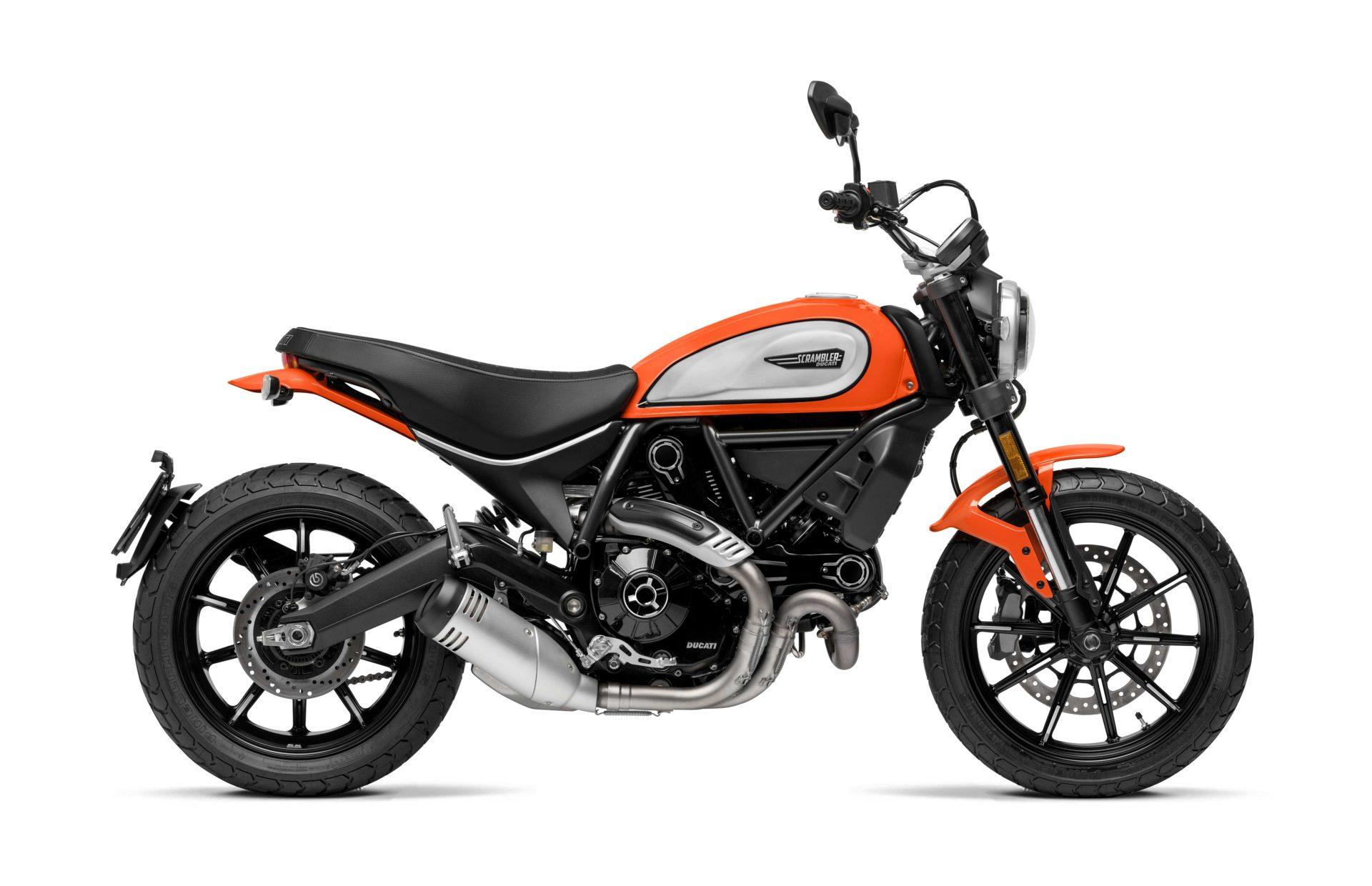 Ducati Scrambler Icon Motocykl dla niskich osób