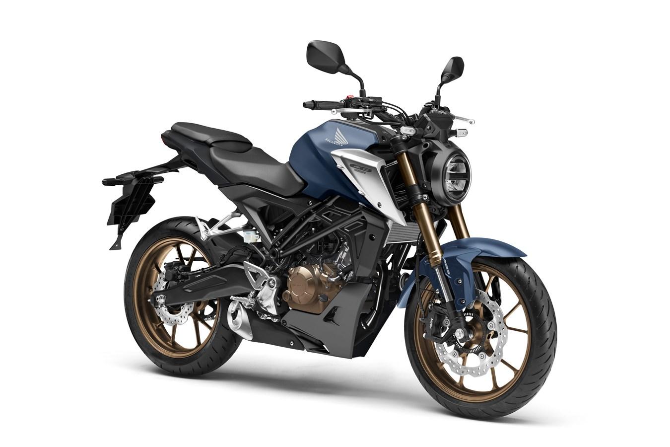 Honda CB125R na rok 2021