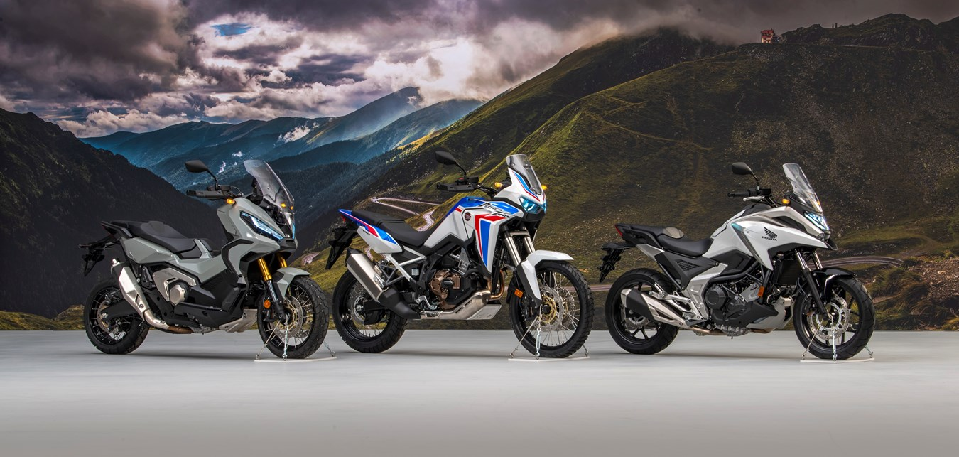 Honda NC750X na rok 2021