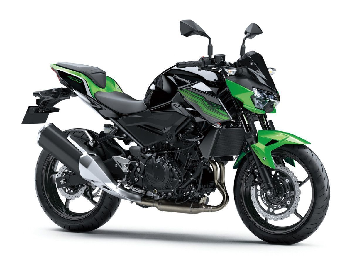 Kawasaki Z400 Motocykl dla niskich osób