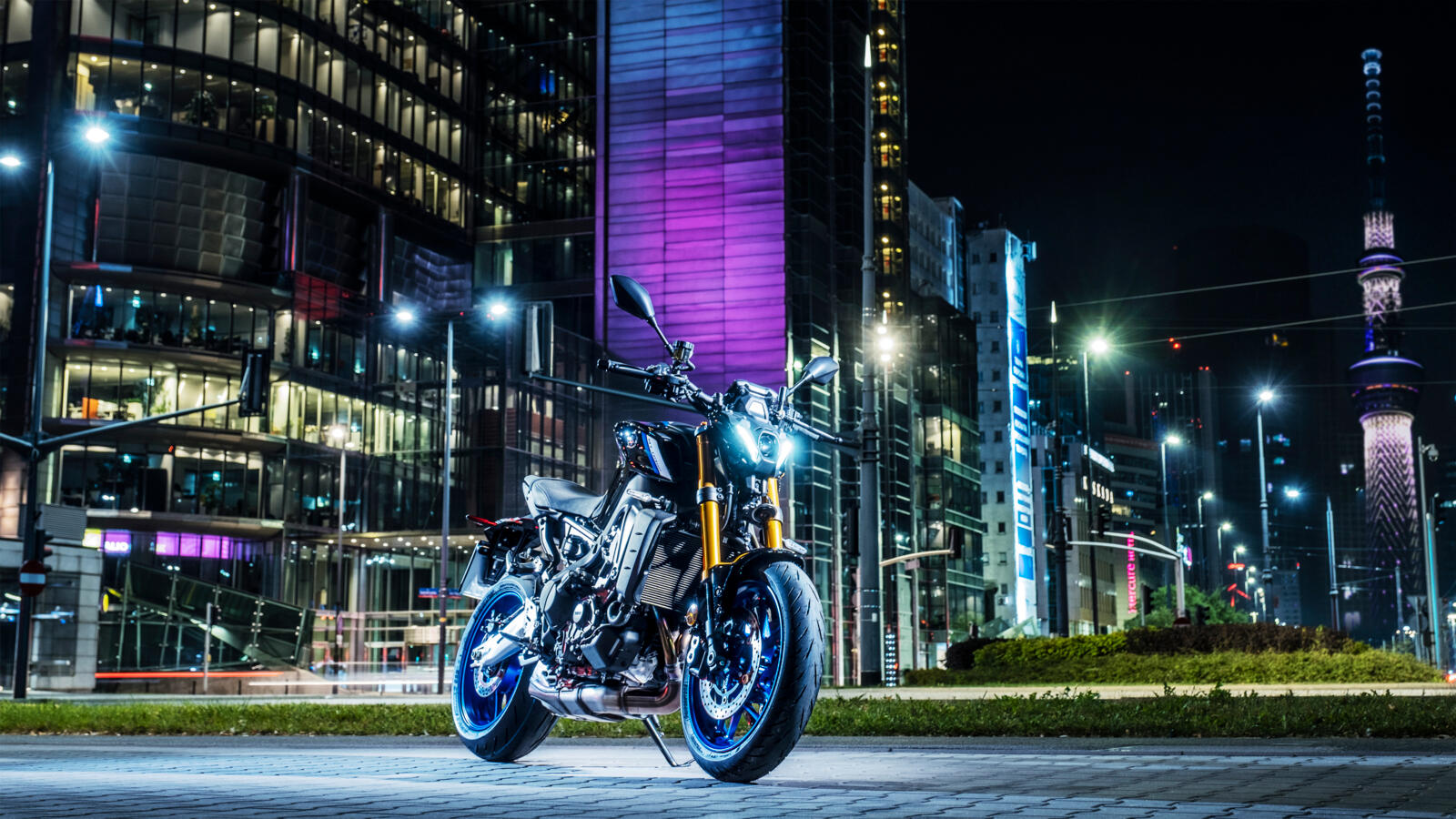 Yamaha MT-09 SP na rok 2021