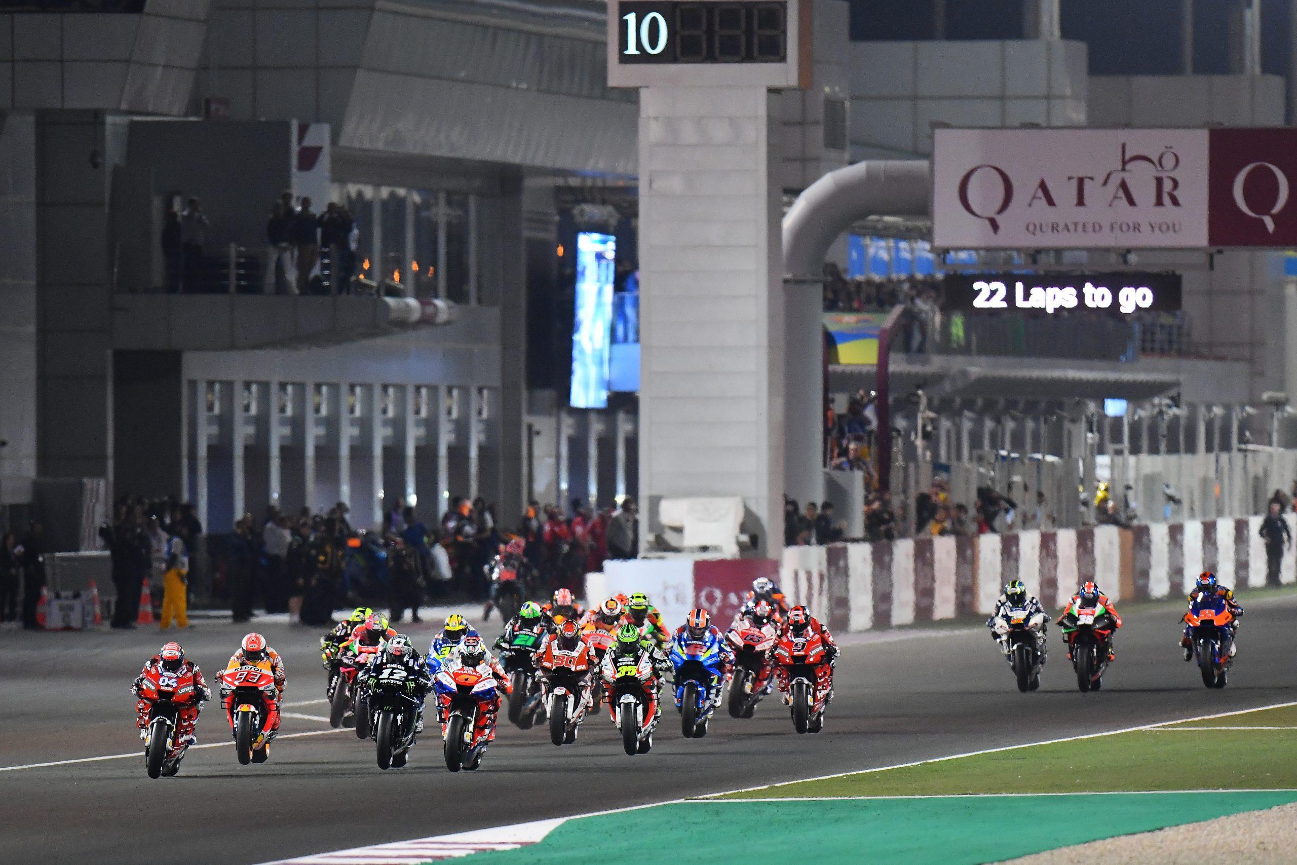 Sezon 2021 MotoGP tradycyjnie wystartuje w Katarze