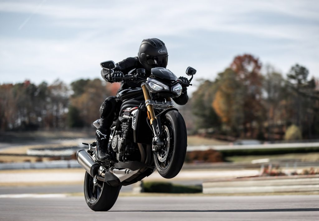 The speed of light: New Triumph Speed Triple 1200 RS