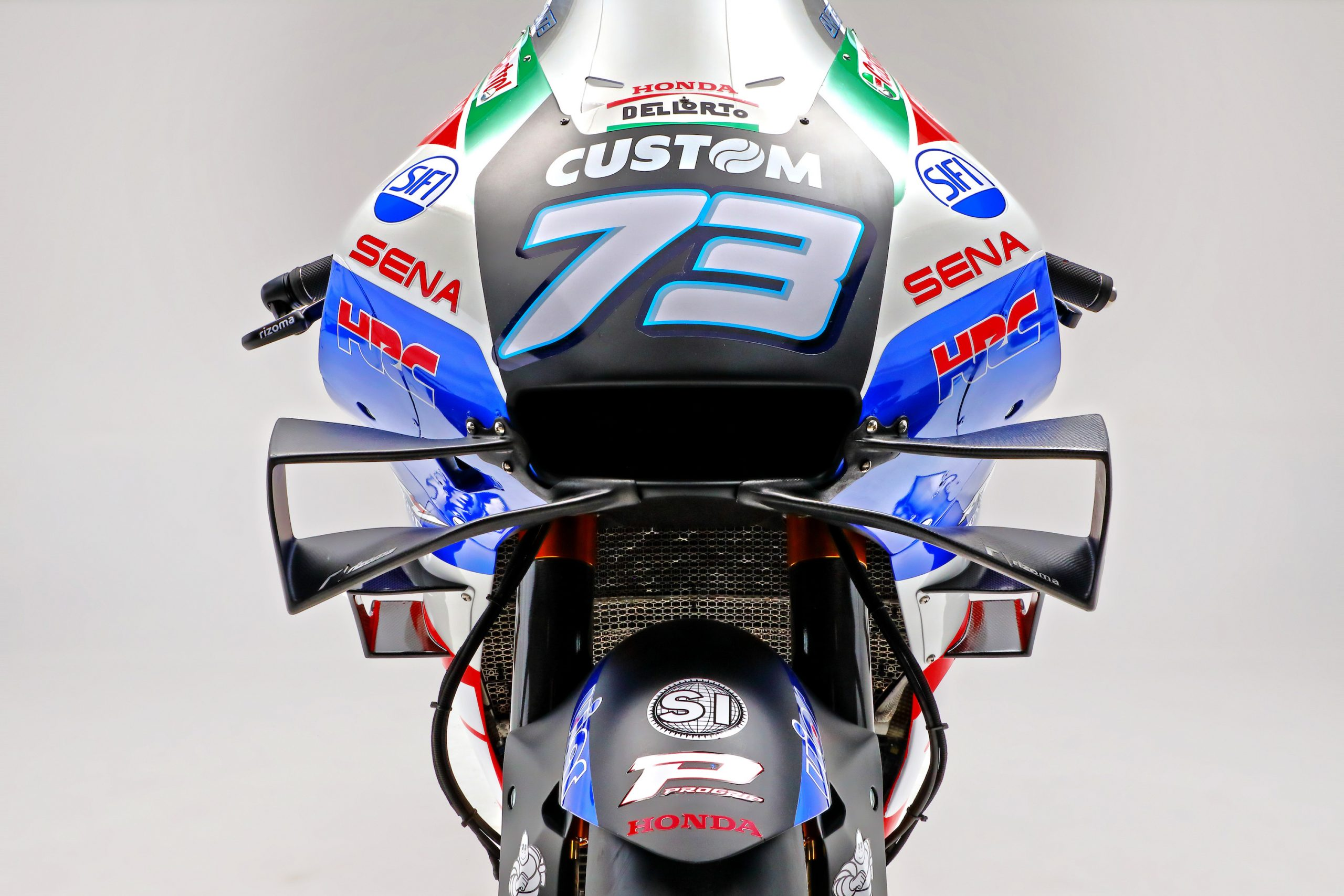 Honda RC213V na sezon 2021 MotoGP w barwach LCR Honda CASTROL
