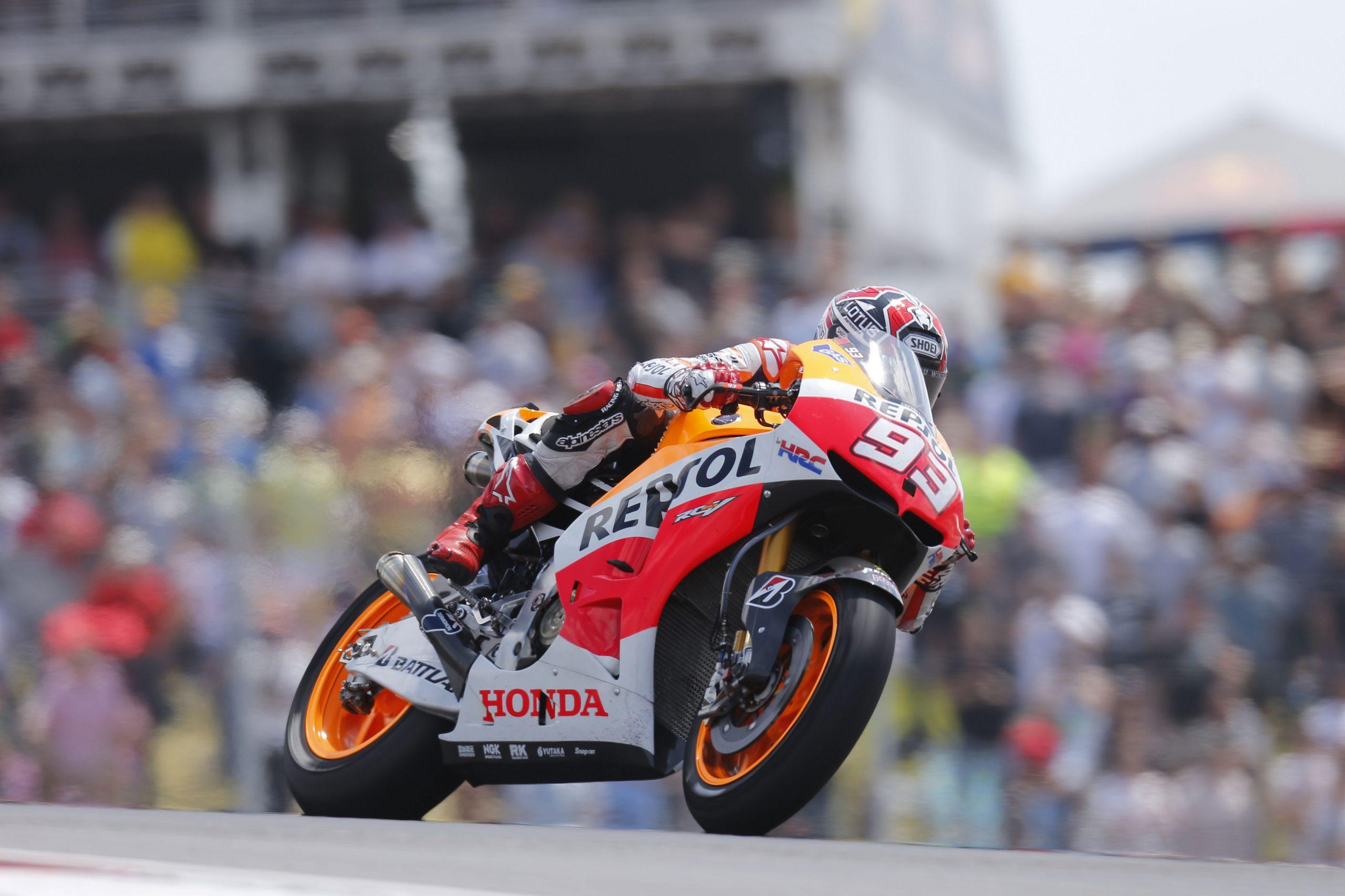 Marc Marquez w drodze po pierwsze zwycięstwo w MotoGP – Austin 2013