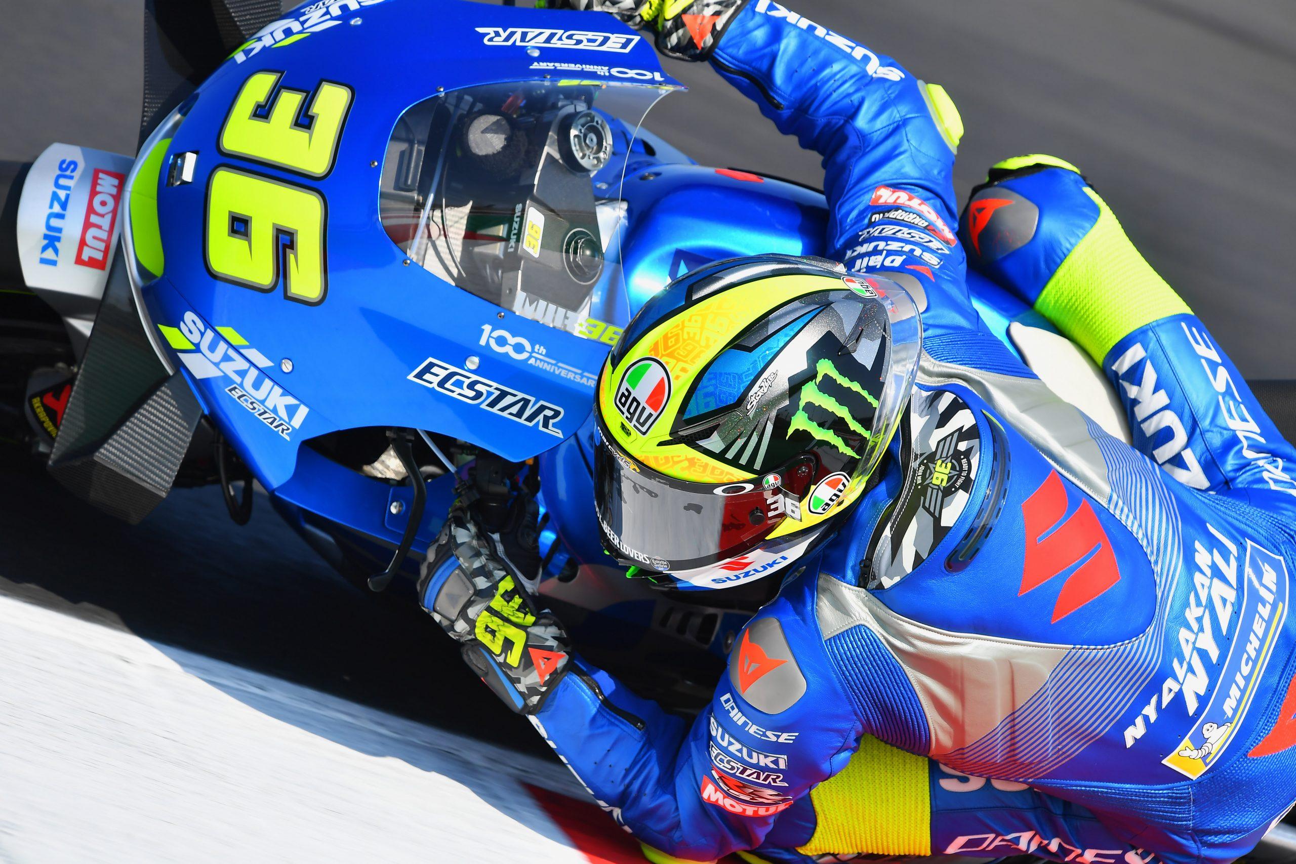 Joan Mir w akcji w sezonie 2020 MotoGP