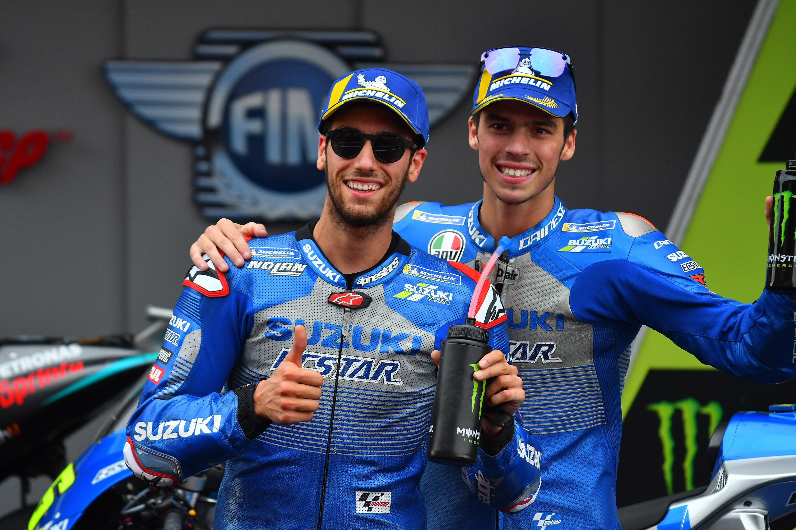 Joan Mir i Alex Rins w sezonie 2020 MotoGP