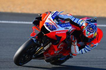 Jack Miller w akcji w sezonie 2020 MotoGP podczas GP Francji