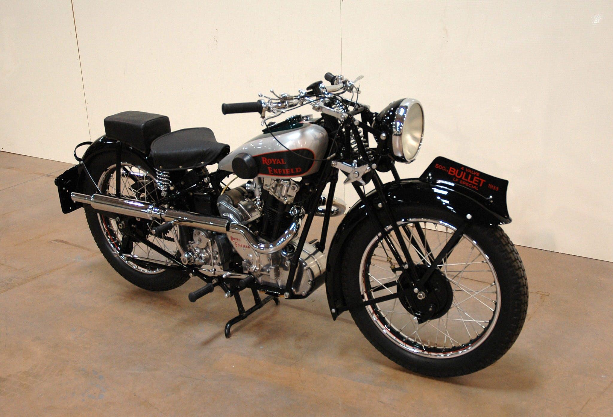 Royal Enfield Bullet 500 z 1933 roku