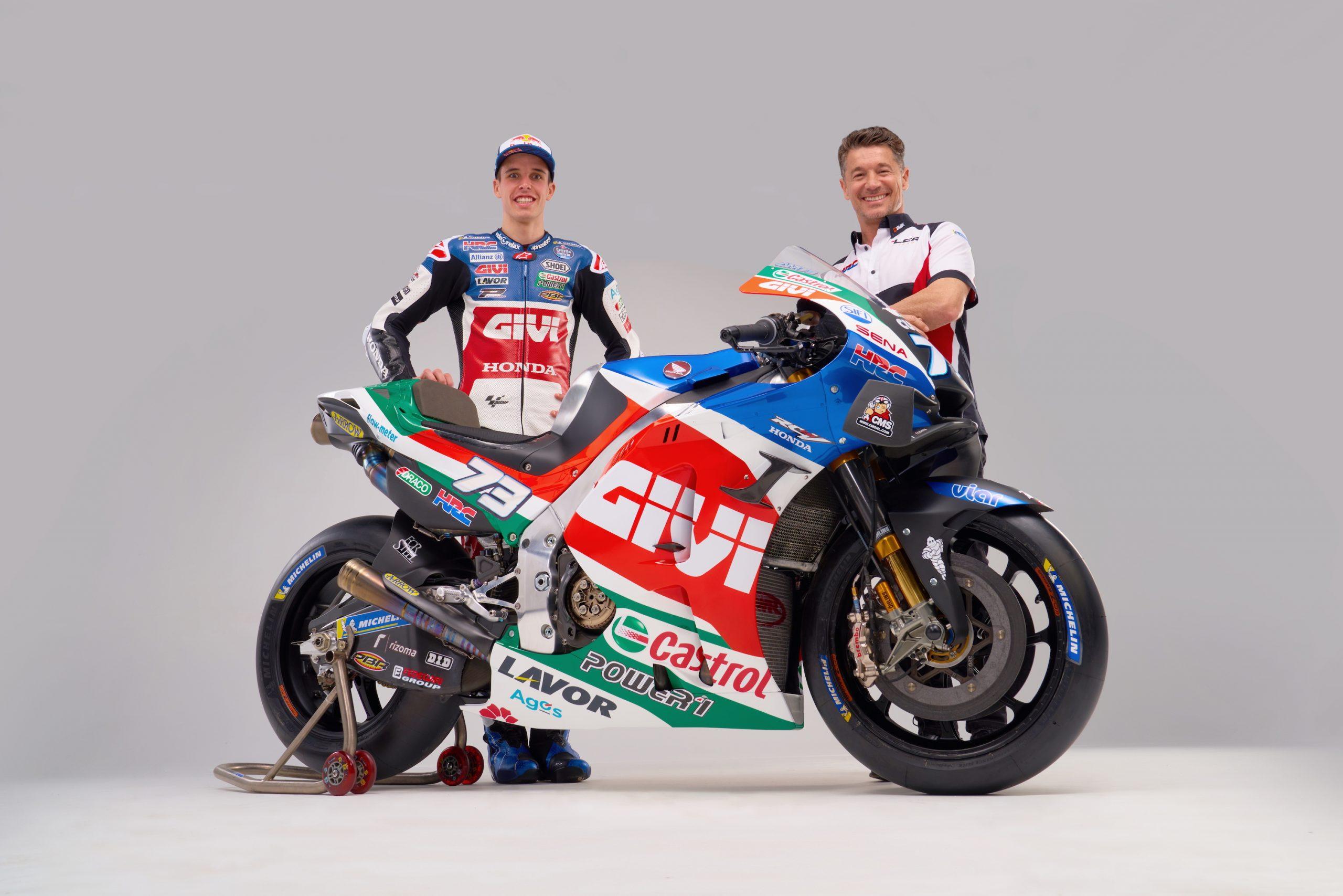 Alex Marquez i Lucio Cecchinello (szef teamu) gotowi na sezon 2021 MotoGP