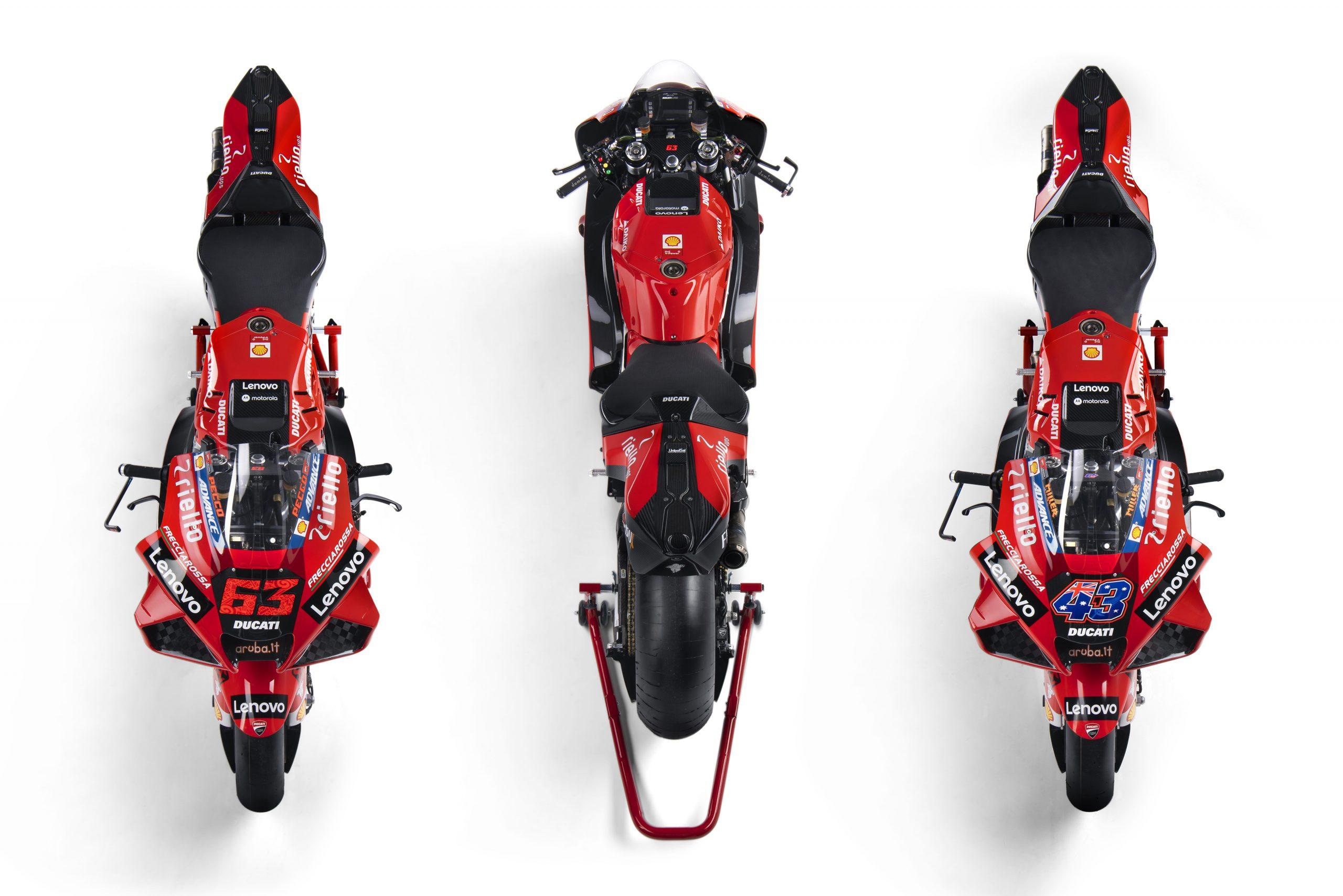 Ducati Desmosedici GP na sezon 2021 MotoGP