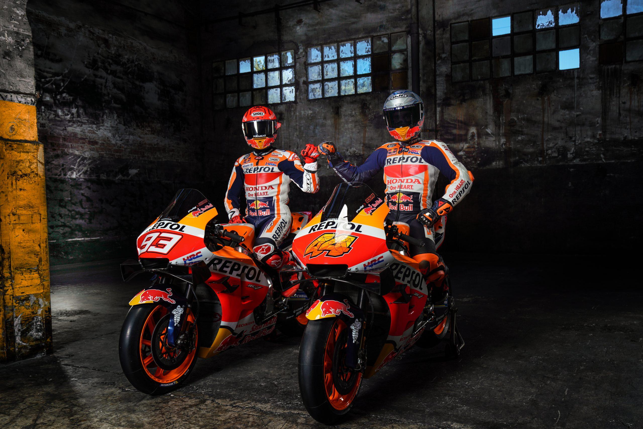 Marc Marquez i Pol Espargaro – prezentacja Repsol Honda 2021