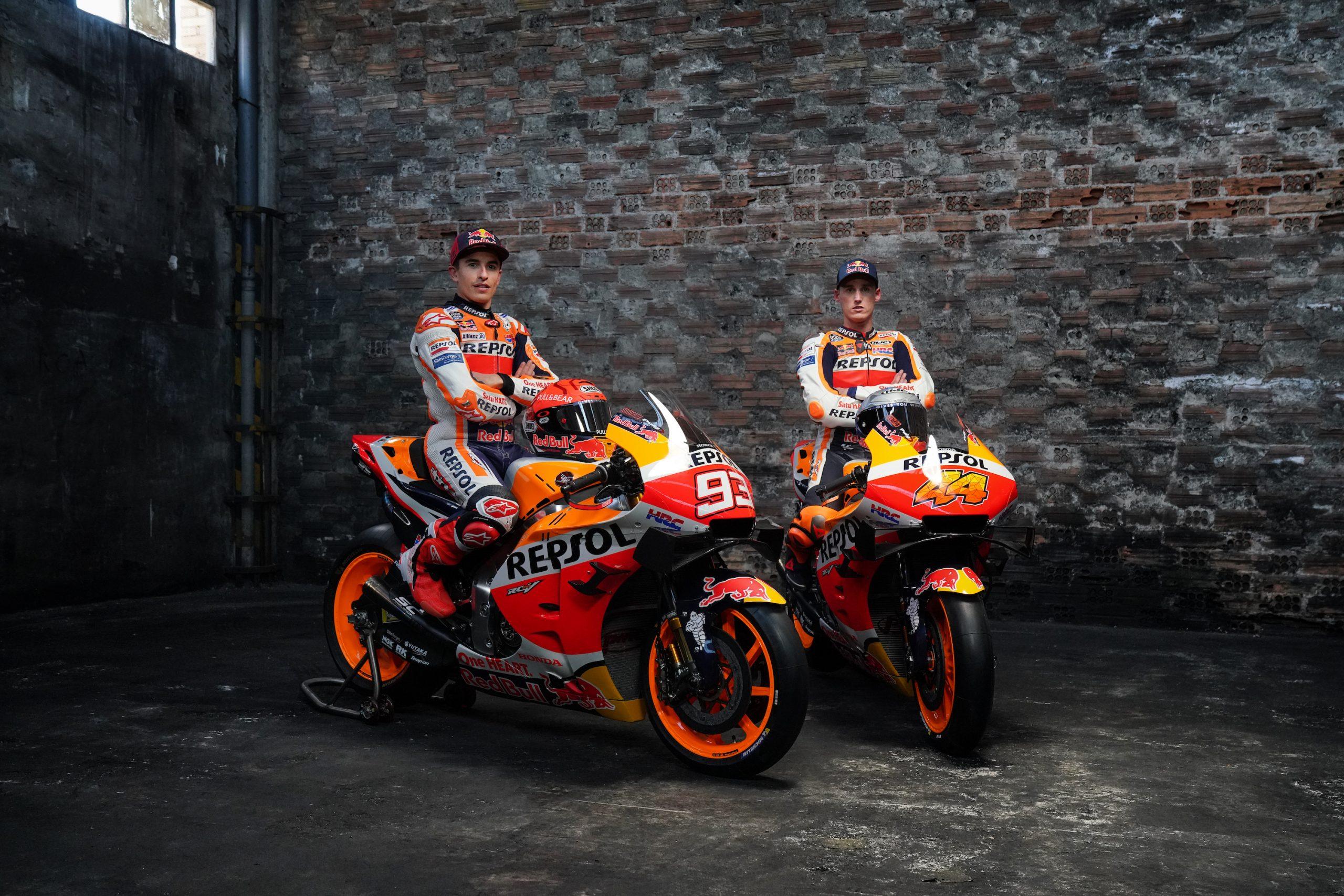 Marc Marquez i Pol Espargaro gotowi na sezon 2021